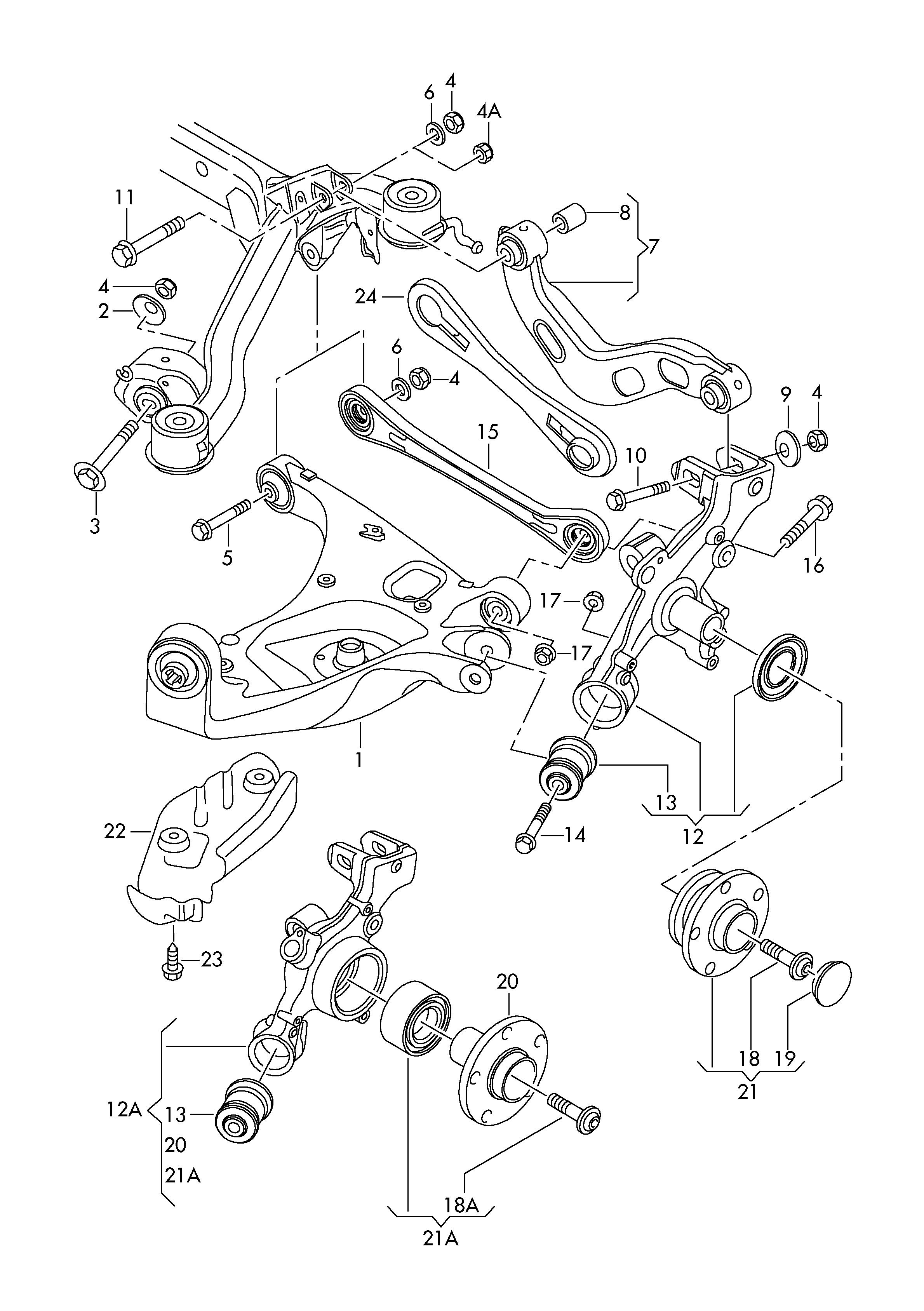2007 Audi A4 Exhaust Diagram