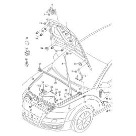 Амортизатор капота Audi A6 C6 (2004-2010)