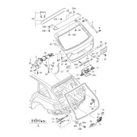 Амортизатор крышки багажника Audi Q5 8R (2008-2017)