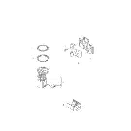 Насос топливный в сборе Skoda Octavia A7 (2013-н.в.)