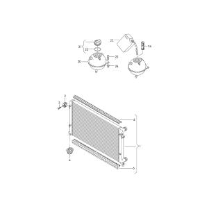 Бачок расширительный Skoda Octavia A5 (2004-2013)