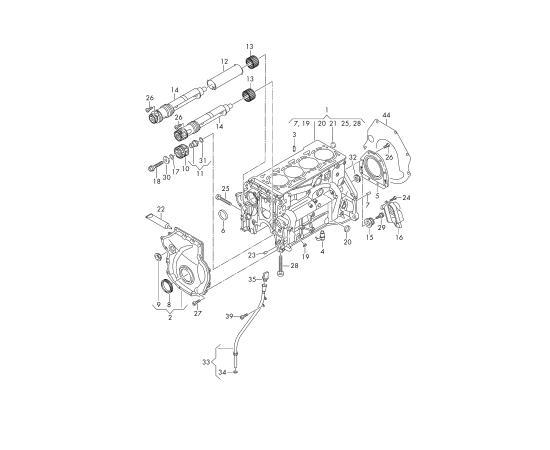 Прокладка маслоотделителя Audi A6 C7 (2011-н.в.)